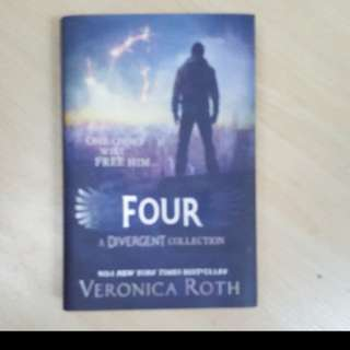 Divergent book set and Four