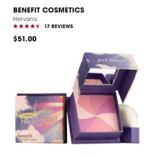 Benefit Cosmetics Hervana Powder Blush 7g