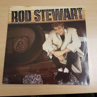 Rod Stewart Every Beat Of My Heart Vinyl LP Original Pressing Rare