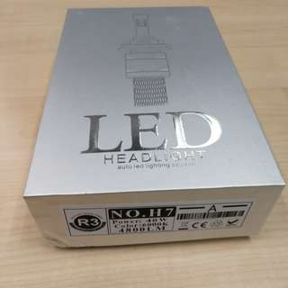 R3 H7 Led Headlight