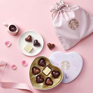 韓國代購 - Starbucks 情人節朱古力禮盒