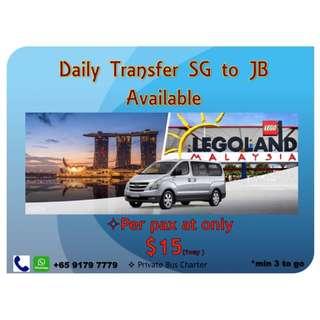 DAILY TRANSFER SG TO JB