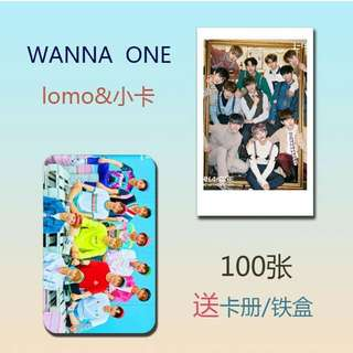 Wanna One Lomo Card & Photo Card