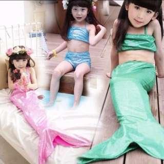 Mermaid Swimsuit Kids Bikini Set