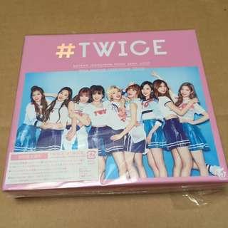 #TWICE Japan album Type A w/ Jeongyeon pc, Jihyo id