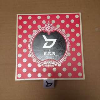 Block B 4th Mini album w/ Taeil pc