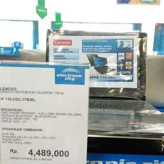Cicilan laptop lenovo promo free 1x angsuran