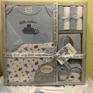 Baby Gift Set Baby Boy Blue