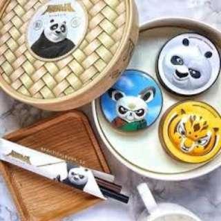 Panda dimsum set from the face shop