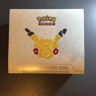 Pokemon Generations 20th anniversary Elite Trainer Box trading card game