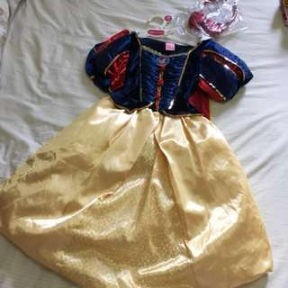 Snow White costume 5-6yo