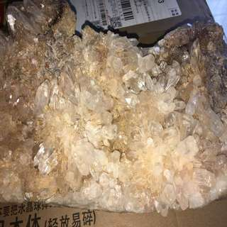 Large natural Rare White Crystal
