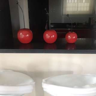Cherry Set for Table/Console Display