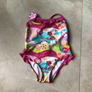 Swimwear baju renang size 2 tahun