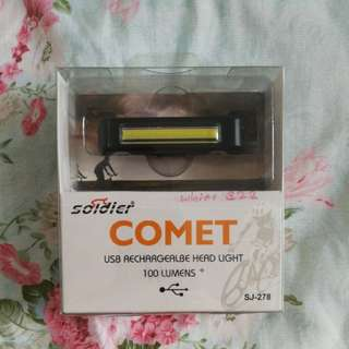 Bicycle Light - USB rechargeable head light