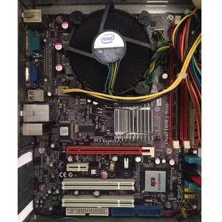 Elitegroup ECS G31T-M7 Pentium E5400 2GB RAM