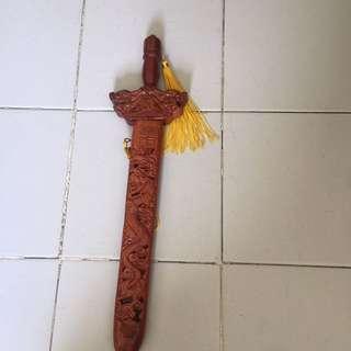 42cm wooden sword