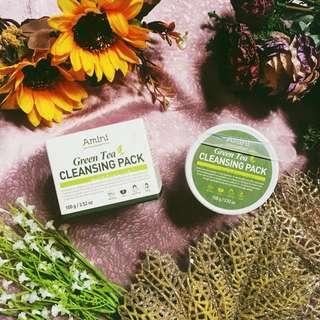 Amini Green Tea Cleansing Pack