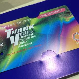 Limited Edition Transitlink Giro Farecard