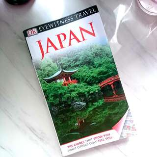 Japan travel book