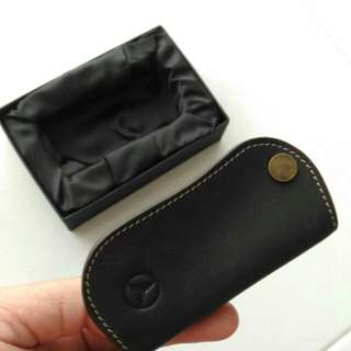 Mercedes Benz Leather Key Pouch