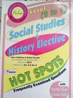 O level elective history, social studies n geo