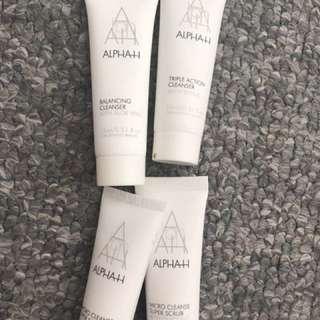 New samples - alpha h/asap/chantecaille