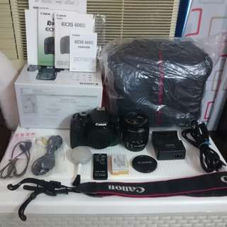 Canon 600D ,include all.new bag