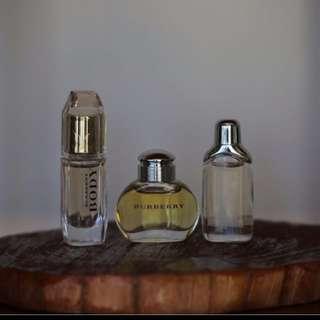BN Burberry Mini Perfume Set