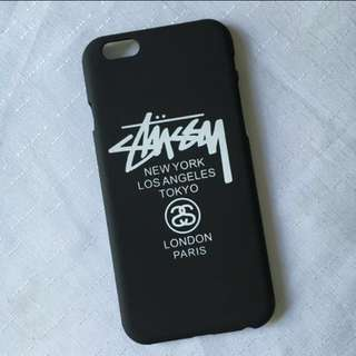 iPhone 6/6s Case Matte Stussy black