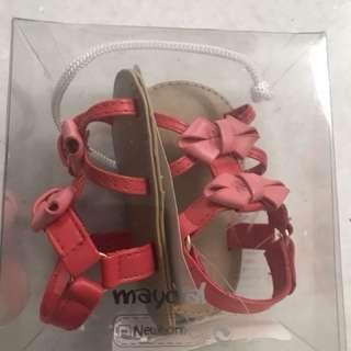 New in box baby girl sepatu uk 16