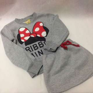 Kids Minnie set