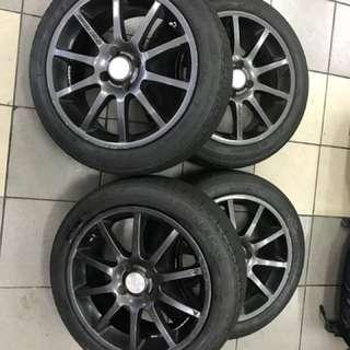 16'' rims &tyres
