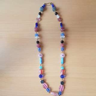 Handmade Necklace with Assorted Beads