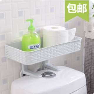 BN bath room rack that can be place on top of the toilet bowl as pic show @ $8/each