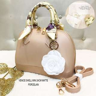 Matte Mini Dome Handbag