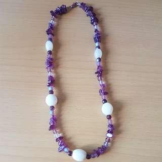 Handmade Amethyst Necklace