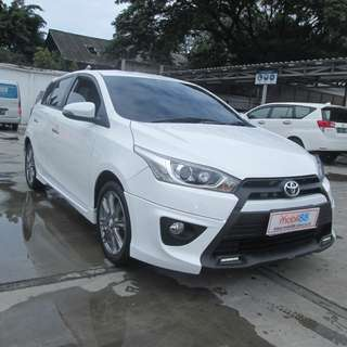 2014 Yaris S TRD AT Putih