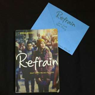 [SALE] Novel Refrain Winna Efendi