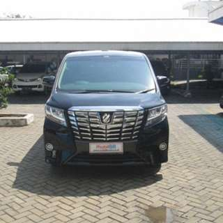 2015 Alphard G 2.5 AT	Hitam