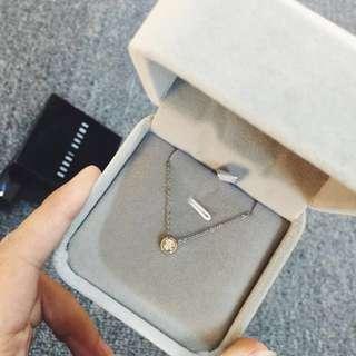 SALE Petite rose gold necklace 60% off