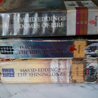 David Eddings The Tamuli series books 1 to 3