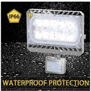 LED Motion Sensor Flood Light , 50W Outdoor LED Floodlights, Waterproof IP65, 450W Halogen Lights Equivalent, Daylight White, LED PIR Security Light, 4500lm Wall Washer Light