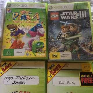 LEGO Star Wars III the Clone Wars, Viva Piñata/party animals, Lego Indiana Jones
