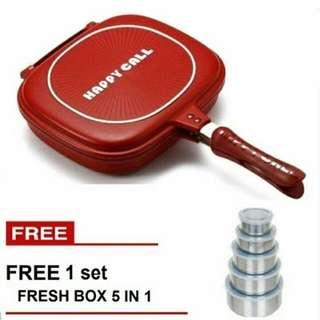 Happy Call Free Rantang Kotak Makan Susun
