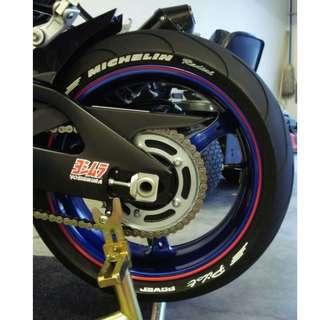 Motorbike Tyre Fonts