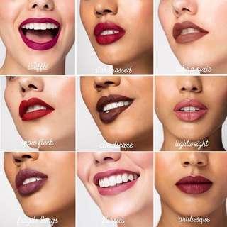 Colourpop Ultra Satin/Matte/Glossy Lips