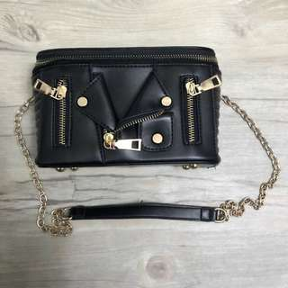 Reprice! Moschino inspired sling bag