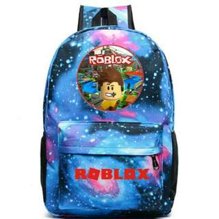 PO Roblox Galaxy School Bag