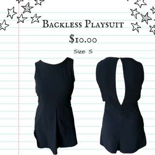 BACKLESS JUMPSUIT | @soldbyjo